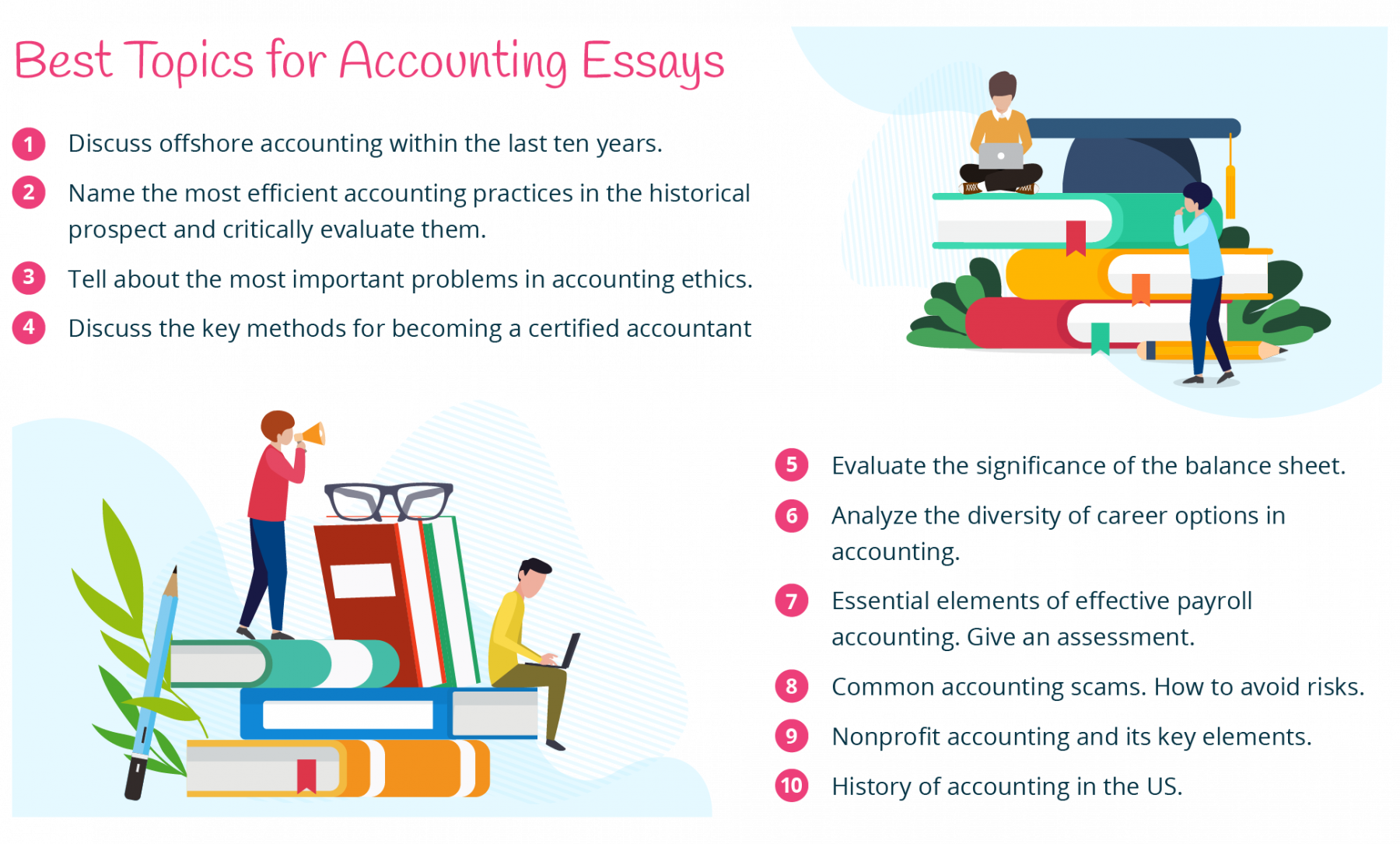 best topics for accounting essays